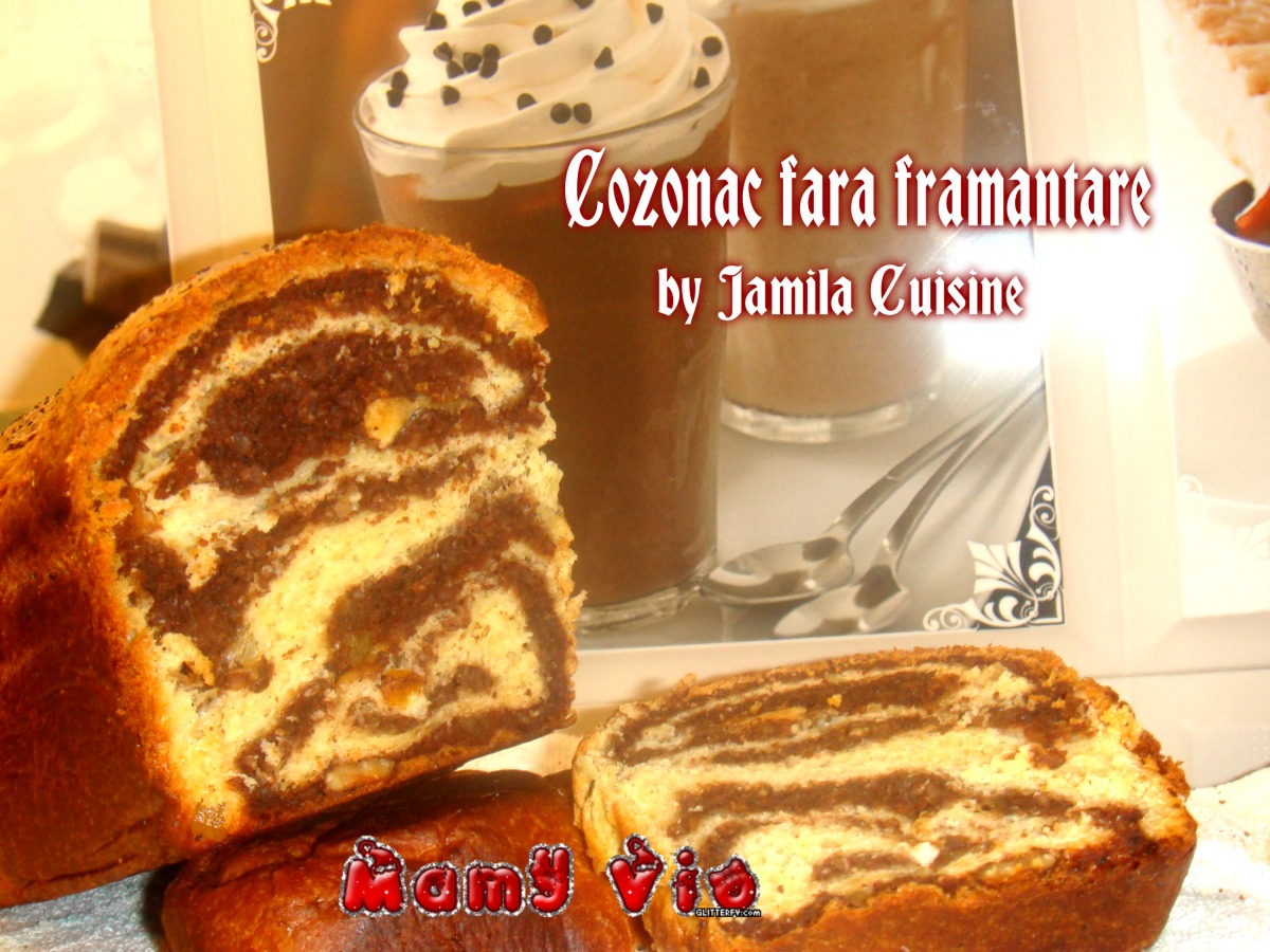 Cozonac fara framantare by Jamila Cuisine